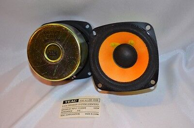 TEAC Shielded 3 Inch Woofers 16 Ohm Speakers Pair 8 Ohm From LSR-100B