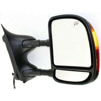 New Mirror Passenger Right Side VW Heated In-housing Turn Signal Light RH Hand