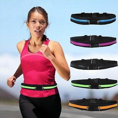 Running Hiking Exercise Bag Sports Waist Package Mobile Phone MP4 Wallet Holder