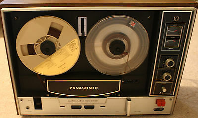 Vintage Panasonic RS - 790AD Reel to Reel Tape Recorder,for Parts or Repair