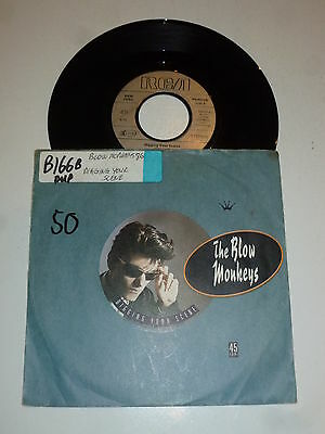 BLOW MONKEYS - Digging Your Scene - Scarce 1987 German Juke Box Single