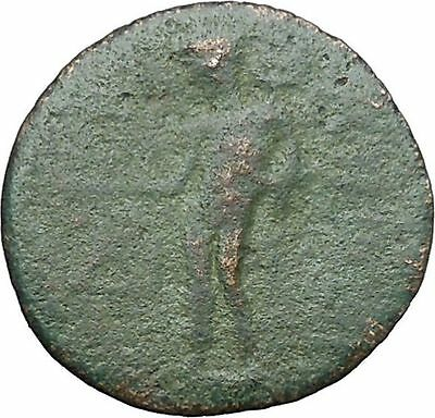 KORYKOS in CILICIA 1stCenBC Tyche Hermes Authentic Ancient Greek Coin i49734