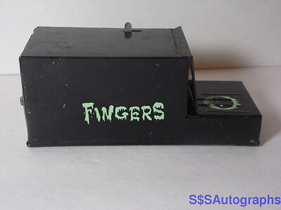 WORKS VTG 1960s FRANKONIA JAPAN JAPANESE TIN TOY FINGERS COIN BANK SCI FI HORROR