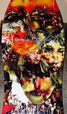 "David Choe Skate Deck Sold Out ""Ignored Prayers"" 50 Made In World New In Plastic"