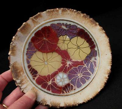 Exceptional Signed Rynne Tanton Contemporary Australian Studio Pottery Plate Sml