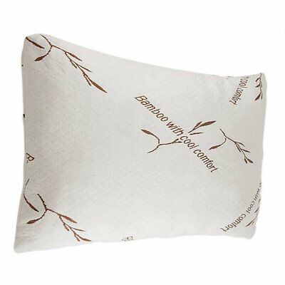Bamboo Pillow Memory Foam King Size, New Improved Version, Cool, Hypoallergenic