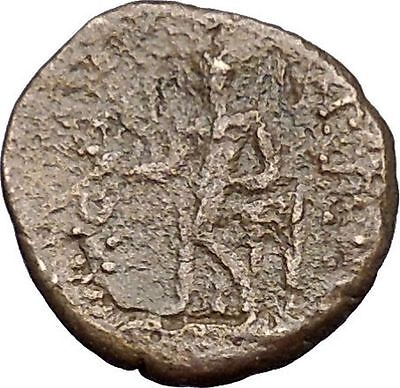 ANTIOCHOS III Megas 223BC Seleukid Apollo Tripod Rare Ancient Greek Coin i49741