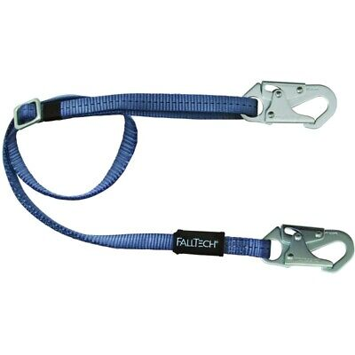 Falltech Fall Protection Safety Restraint Positioning Lanyard 4.5' to 6' 17863