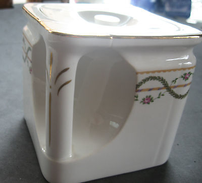 Cube teapot by Foley china shipping cruise liner