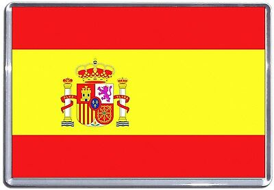 Spanish Flag Fridge Magnet - Flags