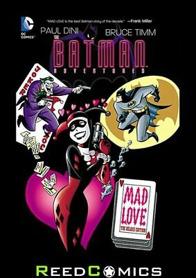 BATMAN ADVENTURES MAD LOVE DELUXE EDITION HARDCOVER New Hardback by Bruce Timm