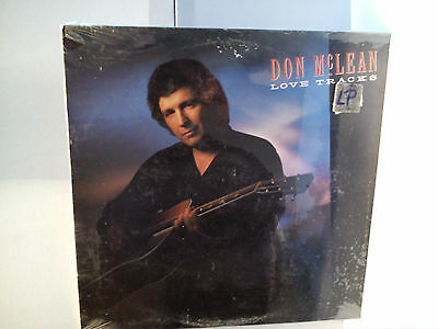 Don Mc Lean - Love tracks         ..............................Vinyl