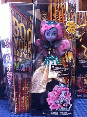 Mouscedes King Welcome to Boo York Monster High Doll New 2015