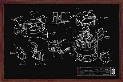 DOCTOR WHO CHALK BOARD POSTER (61x91cm)  PICTURE PRINT NEW ART