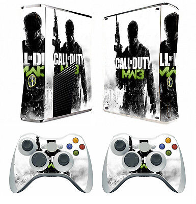 Faceplates, Decals & Stickers Cod Ghosts 268 Vinyl Decal Skin Sticker For Xbox360 Slim E And 2 Controller Skin