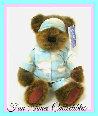 Applause Nick Nora Teddy Bear Plush Brown Wear Cloud PJS NEW WITH TAGS