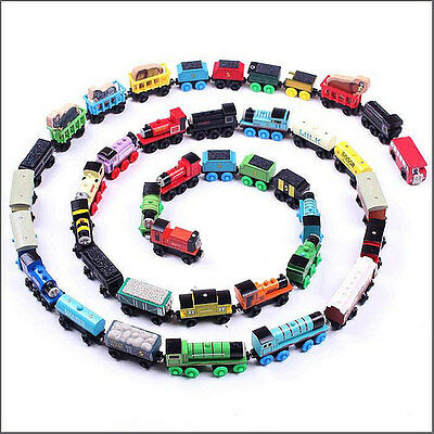 THOMAS AND FRIENDS Wooden Children Toys - Engines Trucks Carriages Train Sets