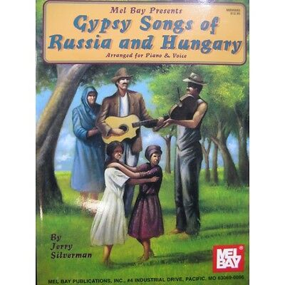 Gypsy Songs of Russia and Hungary Chant Piano 1997  Partition Sheet Music Sparti