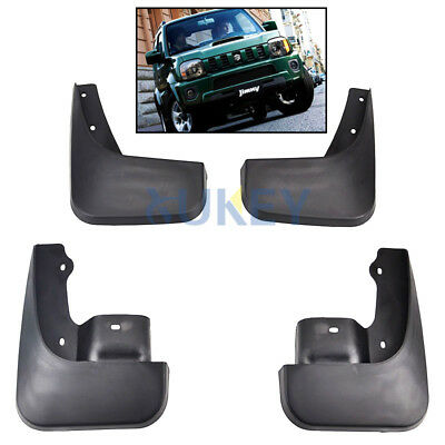 Set Fit For Suzuki Jimny Jimmy Jb 1998-2016 Mudguards Mud Flap Splash Guards Mud