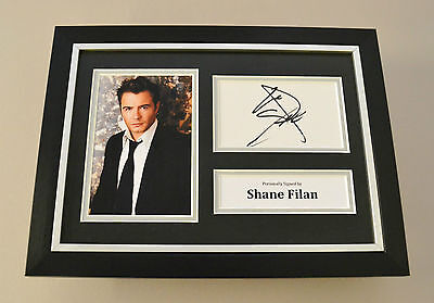 Shane Filan Signed A4 Photo Framed Display Autograph Westlife Memorabilia + COA