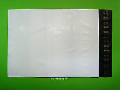 """5 PCS White Poly Mailers Envelopes Mailing Bags 5"""" x 7""""_125 x 180+45mm"""