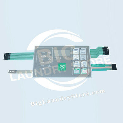 NEW Huebsch Washer Keypad Touchpad - Part # F0231582-17P