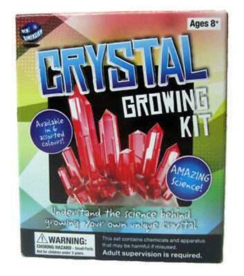 NEW Crystal Growing Kit - Make your Own - Fun Science for Kids!