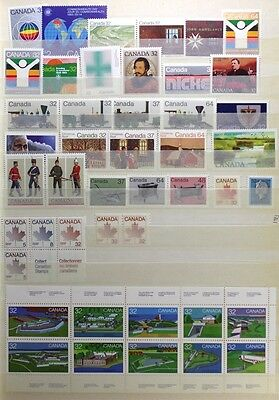 CANADA Postage Stamps, 1983 Complete Year set collection, Mint NH, See scans