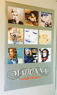 Madonna Collage Re-Invention Vintage Poster Ad Promo Ad pin-up Pyramid Posters