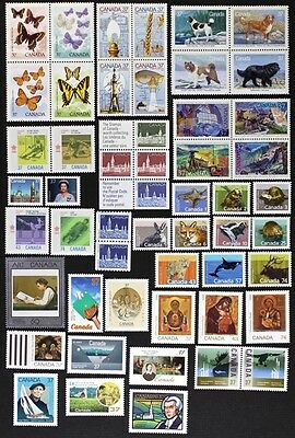 CANADA Postage Stamps, 1988 Complete Year set collection, Mint NH, See scans