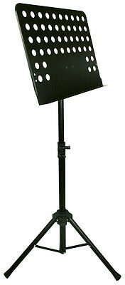 TGI Conductors Music Stand 1042B - Comes With Carry Bag. Compact and Strong