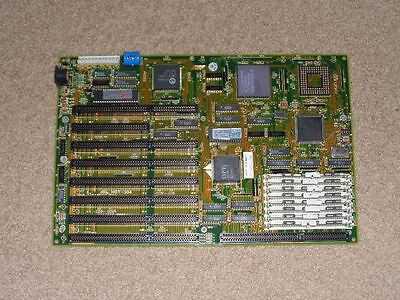 AMI 386 BIOS Motherboard with Am386 DX/DXL-25 CPU and RAM