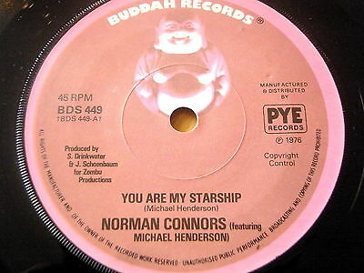 """Norman Connors - You Are My Starship  7"""" Vinyl"""