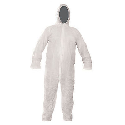 Brand New Disposable Paper Suit Protective Overall Coverall XL Sprayer Overalls