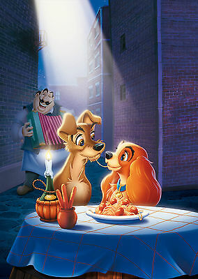 Lady and the Tramp (1955) - A1/A2 Poster **BUY ANY 2 AND GET 1 FREE OFFER**
