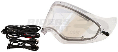 GMax GM37/S Electric Heated Snowmobile Helmet Shield with Cord Clear