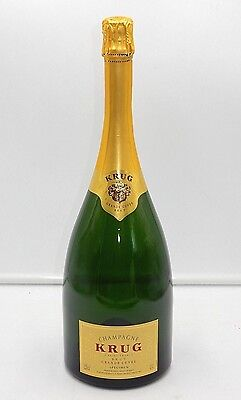 Krug Champagne Brut Grand Cuvee Empty 1.5L Empty Decorative Champagne Bottle