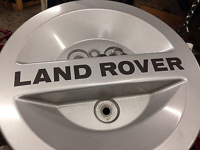 Land Rover Discovery Spare Tire Cover 1994-1997