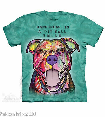 Pit Bull Smile T-shirt by the mountain,pit bulls,dogs,love pitbulls
