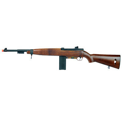 WELL D69 WORLD WAR II M1 CARBINE AUTO ELECTRIC AIRSOFT SNIPER RIFLE Gun w/ BB