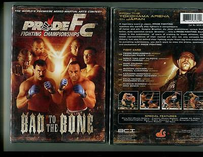 Pride Fc - Bad To The Bone (Dvd, 2005) Brand New Sealed - Free Shipping