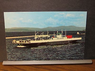 MV VALCOUR Lake Champlain, Burlington, VT Naval Cover Unused Post Card