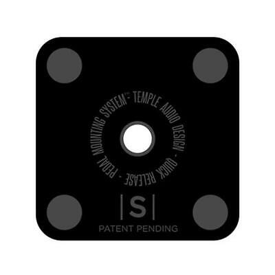 "NEW! Temple Audio Design Small Pedal Plate (1.3"" x 1.3"")"