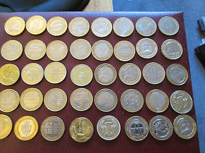 Scarce Commemorative Two Pound Coins – Rare British £2 coin 1986 - 2015 2002