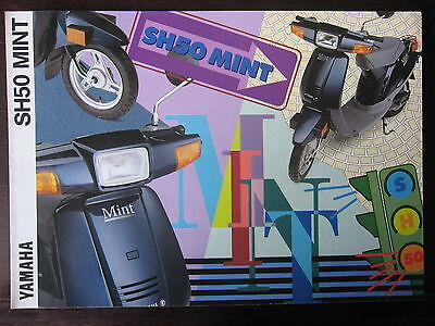 Catalogue Prospectus Brochure  1994  Yamaha   Sh 50 Mint