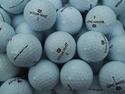 25  Wilson Staff Dx2 / Dx3 Soft Golf Balls  Pearl / Grade A  Free Delivery