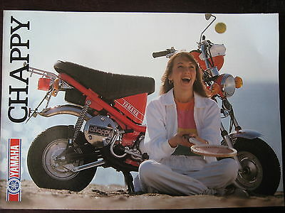 Catalogue Prospectus Brochure 1982 Yamaha   Lb 50 Chappy