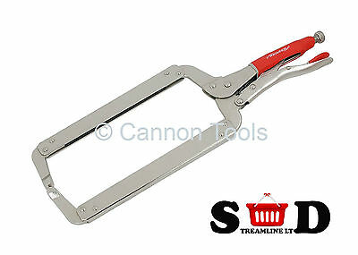 """18"""" 460mm Welding Locking C-Clamp Mega Grip Hand Tools Quality Clamps Kit CT1464"""