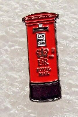 Traditional Red Post Box enamel pin / lapel badge