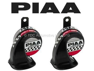 PIAA Dual-Tone Horns Kit 500Hz/600Hz With Weather Resist Cover (Twin Pack) HO8E